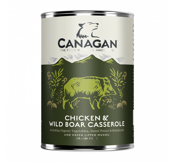 Canagan Can - Chicken & Wild Boar Casserole For Dogs 400gr