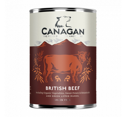 Canagan Can British Beef 400gr