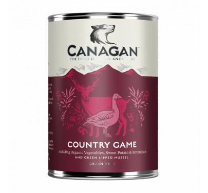 Canagan Can - Country Game For Dogs 400gr