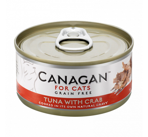Canagan Can - Tuna with Crab 75gr