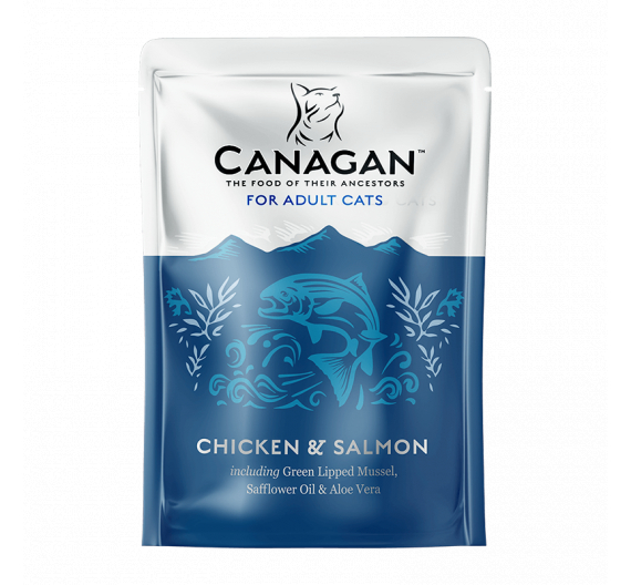 Canagan Free Run Chicken & Salmon for Cats 85gr