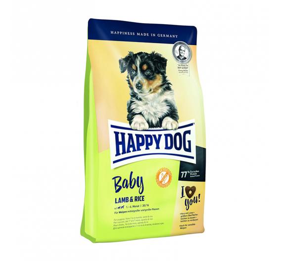 Happy Dog Young Baby Lamb & Rice 18kg