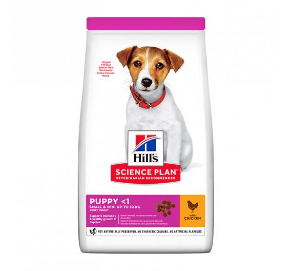 Hills SP Puppy Small & Mini Κοτόπουλο 1.5kg