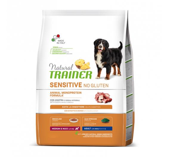 Natural Trainer Sensitive Adult M/M Πάπια 3kg