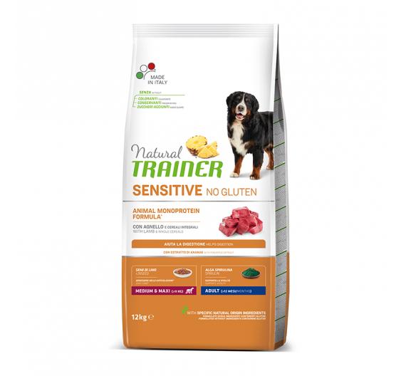 Natural Trainer Sensitive Adult M/M Αρνί 12kg