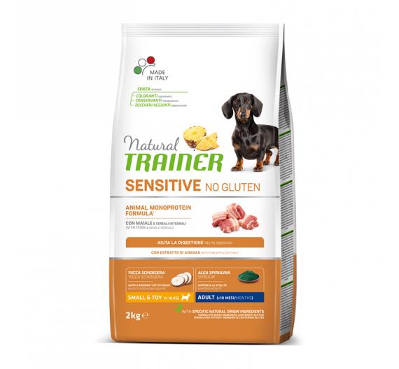 Natural Trainer Sensitive Adult Mini Χοιρινό 2kg