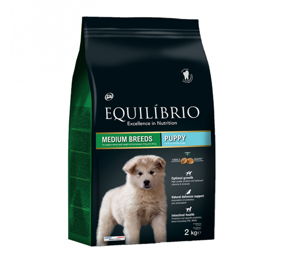 Equilibrio Puppy Medium Breed 2kg