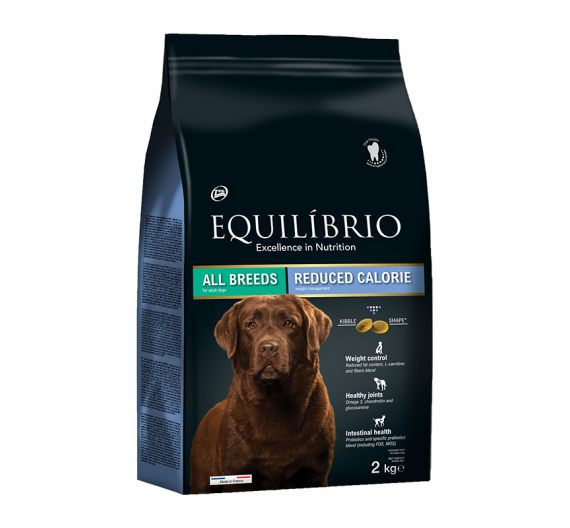 Equilibrio Reduced Calorie All Breeds 2kg