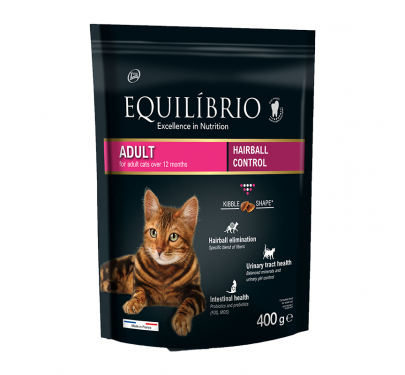 Equilibrio Adult Hairball 400gr