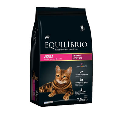 Equilibrio Adult Hairball 7.5kg