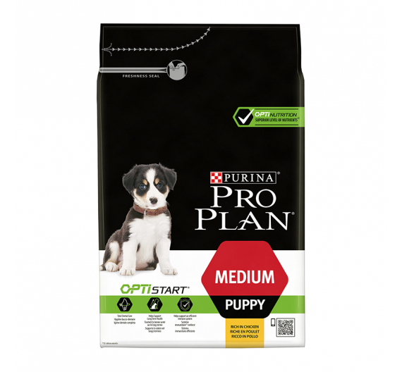 PRO PLAN Medium Puppy Κοτόπουλο 3kg