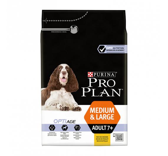 PRO PLAN Medium & Large Adult 7+ Κοτόπουλο 3kg