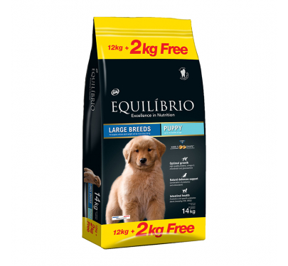 Equibrio Puppy Large Breed 12kg + 2kg ΔΩΡΟ
