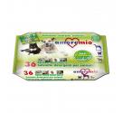 Amoremio Μαντηλάκια Καθαρισμού για Σώμα & Πατούσες Citronella 36τμχ 20x30cm
