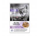 PRO PLAN Nutrisavour Junior Cat Γαλοπούλα σε Σάλτσα 85gr