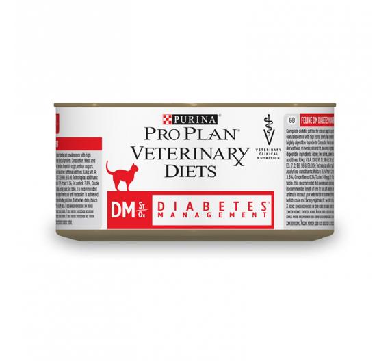 PRO PLAN Veterinary Diets Cat DM Diabetes Management Mούς 195gr