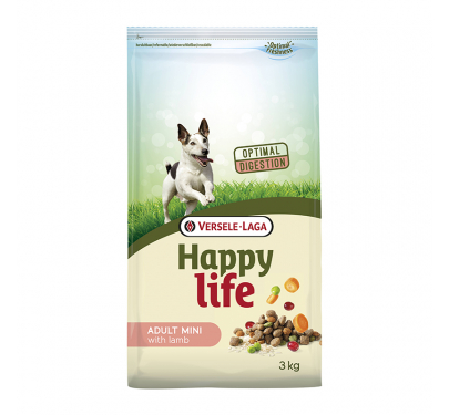 Versele Laga Happy Life Adult Mini Lamb 3kg