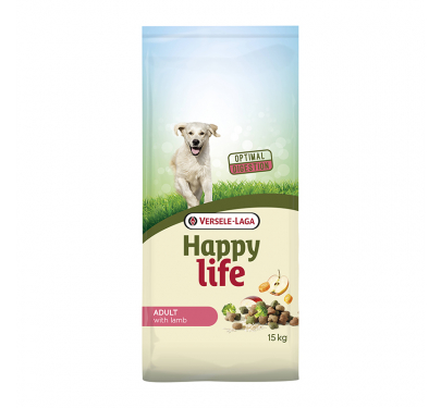 Versele Laga Happy Life Adult Lamb 15kg