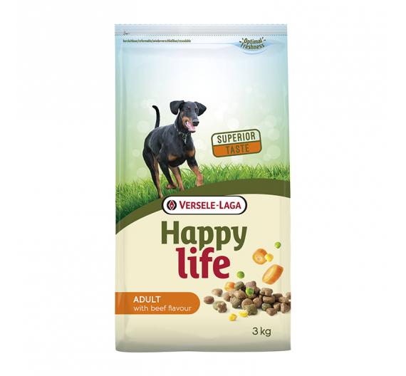 Versele Laga Happy Life Adult Beef 3kg