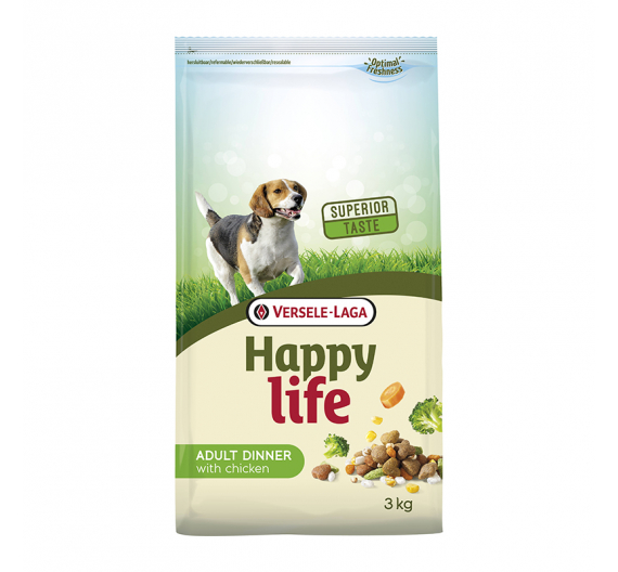 Versele Laga Happy Life Adult Chicken Dinner 3kg