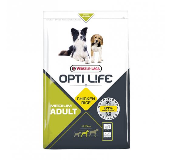 Opti Life Adult Medium 2.5kg