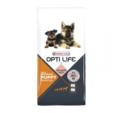Opti Life Puppy Sensitive All Breed 12.5kg