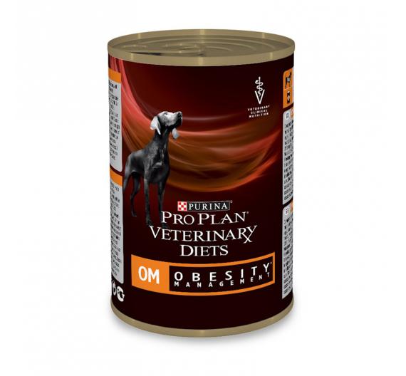 PRO PLAN Veterinary Diets Dog OM Obesity Management Μους 400gr