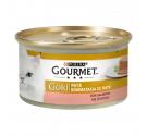 Purina Gourmet Gold Πατέ Σολομός 85gr
