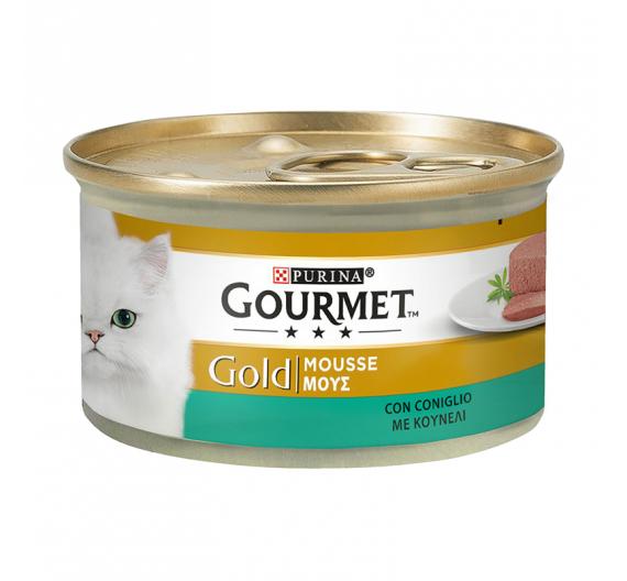 Purina Gourmet Gold Mούς Κουνέλι 85gr