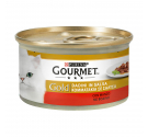 Purina Gourmet Gold Κομματάκια σε Σάλτσα Βοδινό 85gr