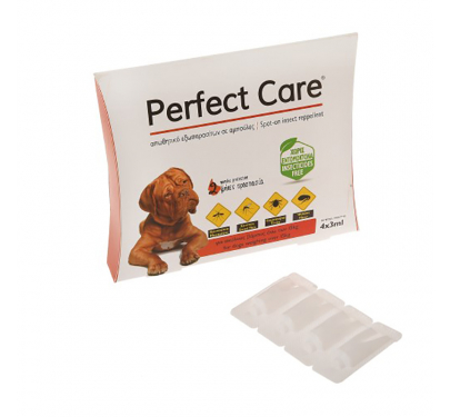 Perfect Care Απωθητική Αμπούλα Σκύλου Large 4x3ml