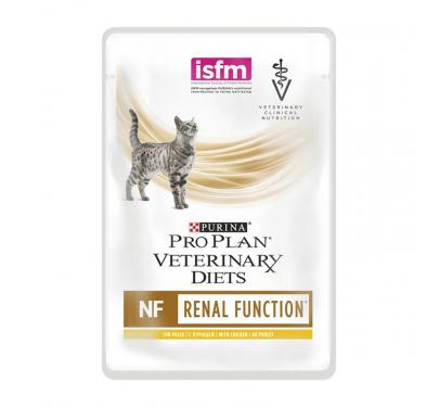 PRO PLAN Veterinary Diets Cat NF Renal Function Κομματάκια Κοτόπουλο σε Σάλτσα Κοτόπουλο 10x85gr
