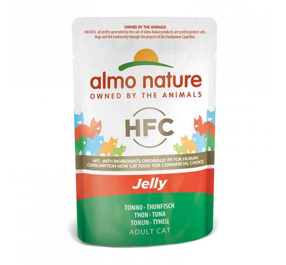Almo Nature Φακελάκι Jelly Τόνος 55gr