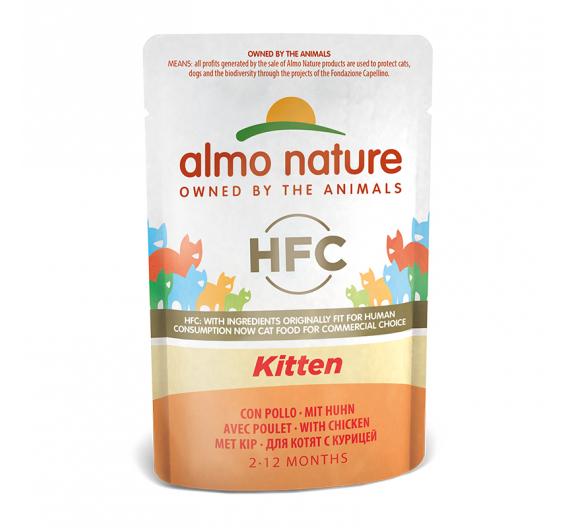 Almo Nature Cuisine Φακελάκι Kitten 55gr