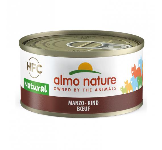 Almo Nature Natural Κονσέρβα Φιλετάκια Μοσχάρι 70gr