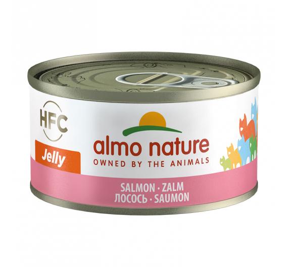 Almo Nature Κονσέρβα Jelly Σολομός 70gr
