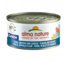 Almo Nature Cuisine Κονσέρβα Φιλετάκια Τόνος, Κοτόπουλο & Τυρί 70gr