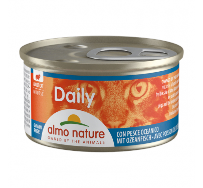 Almo Nature Daily Κονσέρβα Μους Ψάρια Ωκεανού 85gr