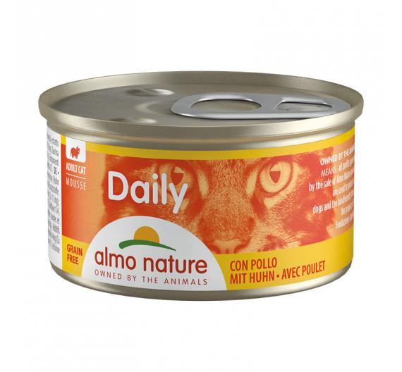 Almo Nature Daily Κονσέρβα Μους Κοτόπουλο 85gr