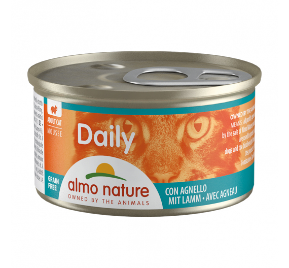 Almo Nature Daily Κονσέρβα Μους Αρνί 85gr