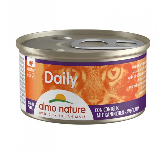 Almo Nature Daily Κονσέρβα Μους Κουνέλι 85gr