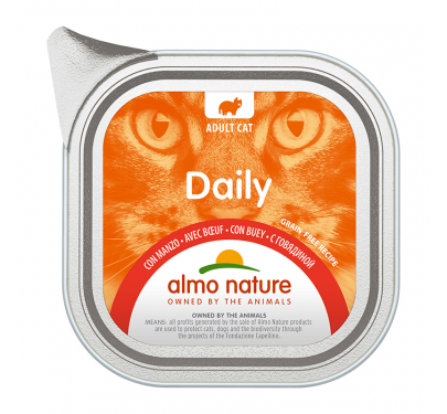 Almo Nature Daily Κονσέρβα Πατέ Μοσχάρι 100gr