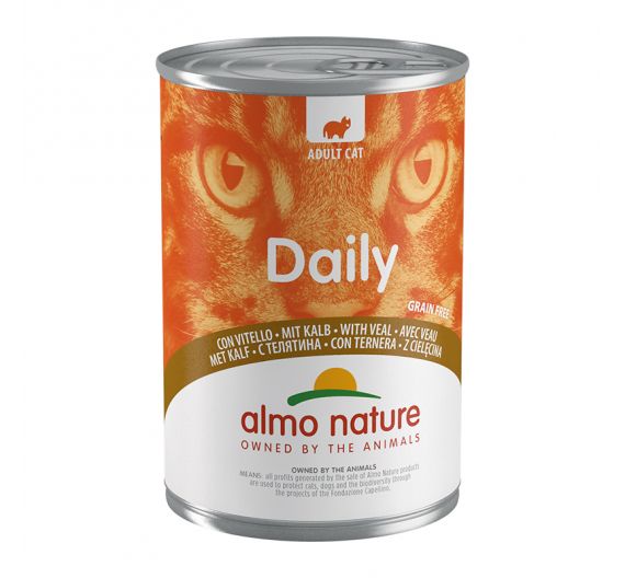 Almo Nature Daily Κονσέρβα Μους Μοσχάρι 400gr