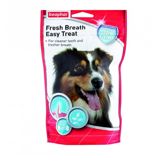Beaphar Fresh Breath Treat Dog Snack με Χλωροφύλλη 150gr