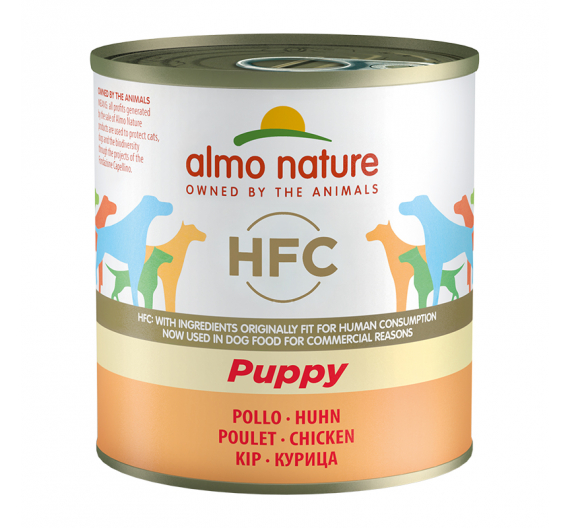 Almo Nature Κονσέρβα Πατέ Puppy Κοτόπουλο 280gr