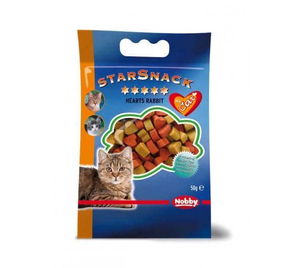 Nobby Starsnack Hearts Rabbit
