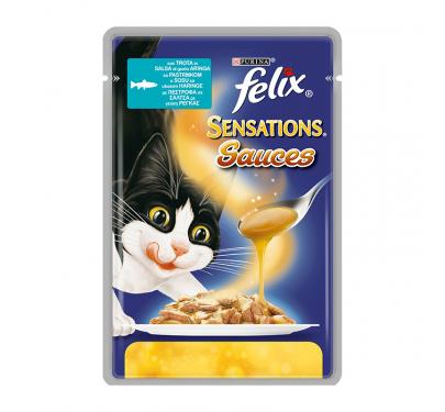 Felix Sensations Sauces Πέστροφα σε Σάλτσα με Ρέγγα 100gr