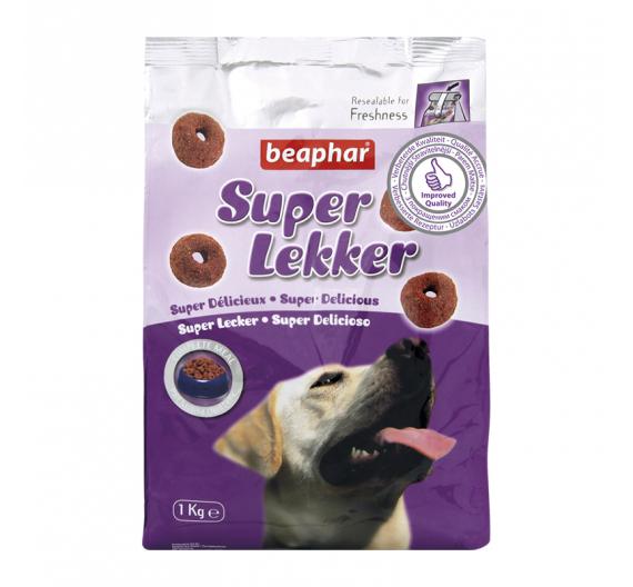 Beaphar Super Lekker Semi Moist Πλήρης Τροφή-Snack 1kg