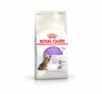 Royal Canin Sterilised Appetite Control 7+ 1.5kg