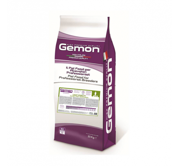 Gemon Cat Light Sterilized Turkey 20kg